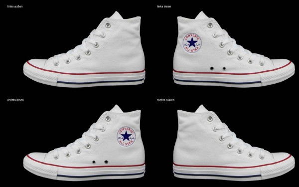 Schuh (Design: 7876 )Converse High