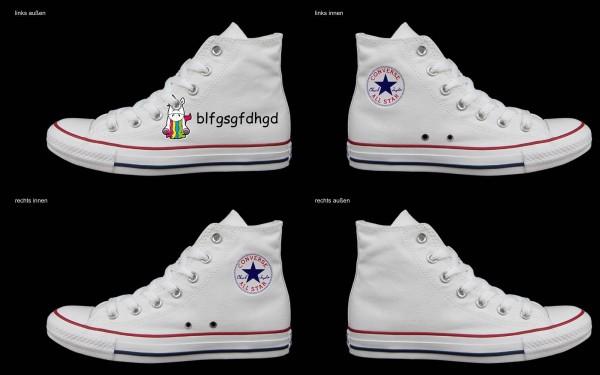 Schuh (Design: 8001 )Converse High