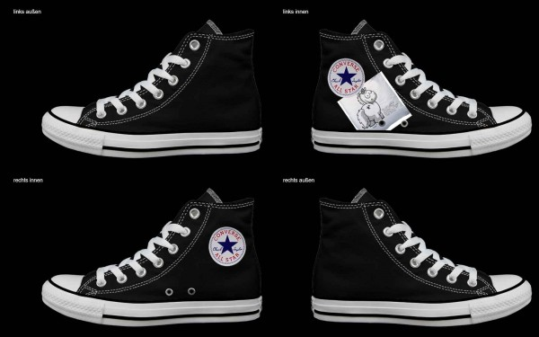 Schuh (Design: 5397 )Converse High