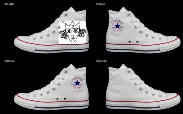 Schuh (Design: 6683 )Converse High