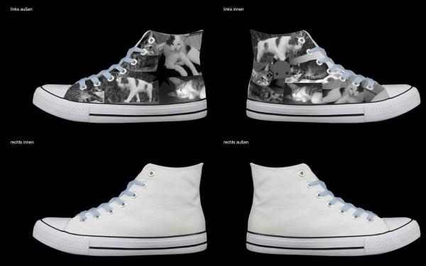 Schuh (Design: 8362 )Sneaker High