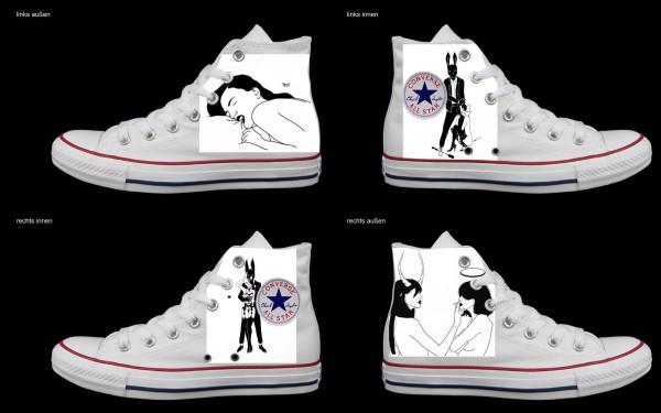 Schuh (Design: 5509 )Converse High