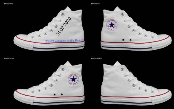 Schuh (Design: 7284 )Converse High