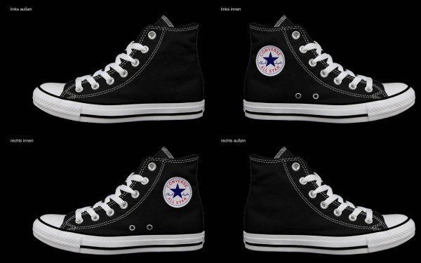 Schuh (Design: 3504 )Converse High