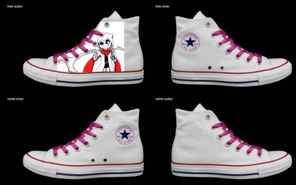 Schuh (Design: 3471 )Converse High