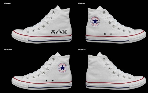 Schuh (Design: 5416 )Converse High