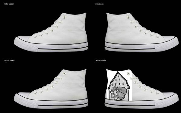 Schuh (Design: 7354 )Sneaker High