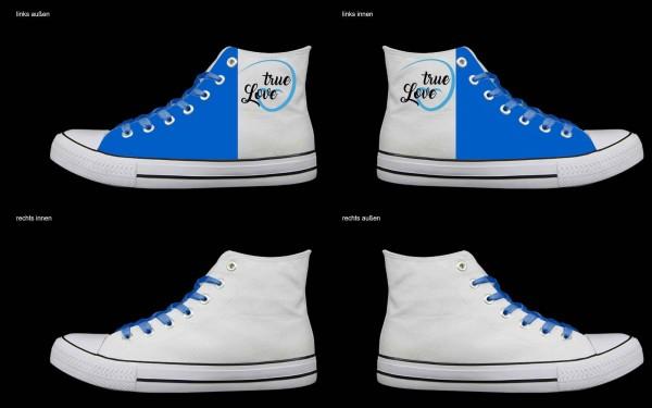 Schuh (Design: 7561 )Sneaker High