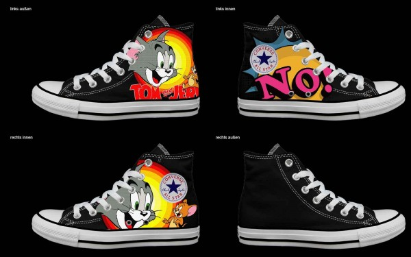 Schuh (Design: 4775 )Converse High