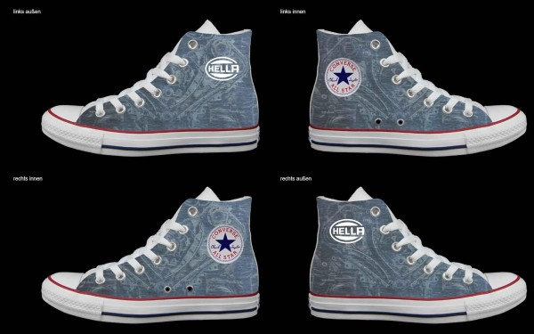Schuh (Design: 5097 )Converse High