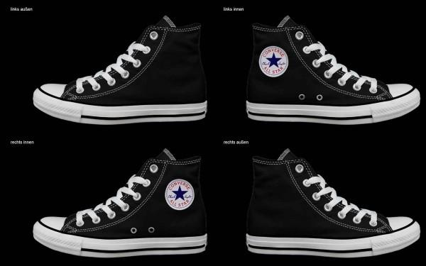 Schuh (Design: 3522 )Converse High