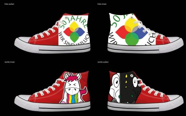 Schuh (Design: 7265 )Sneaker High