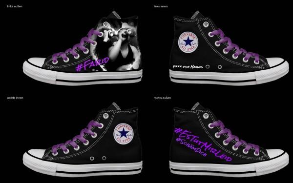 Schuh (Design: 4592 )Converse High