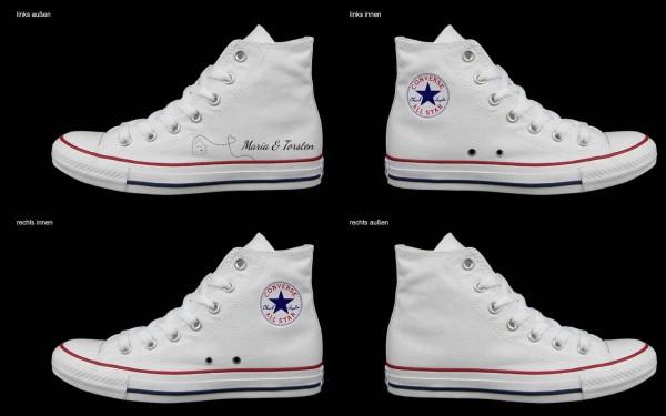 Schuh (Design: 7435 )Converse High