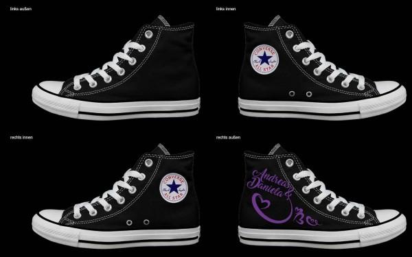 Schuh (Design: 3347 )Converse High