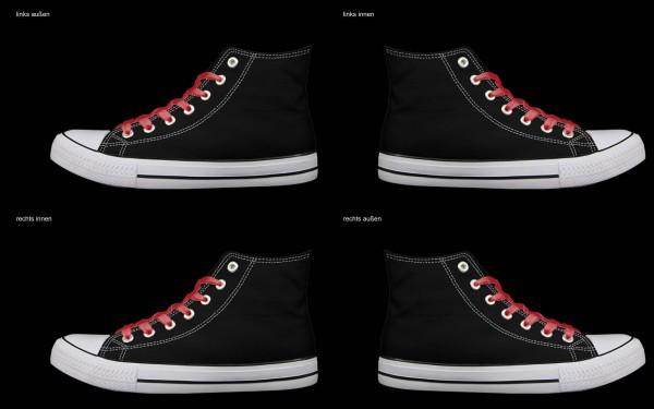 Schuh (Design: 8019 )Sneaker High