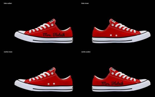 Schuh (Design: 7961 )Converse Low