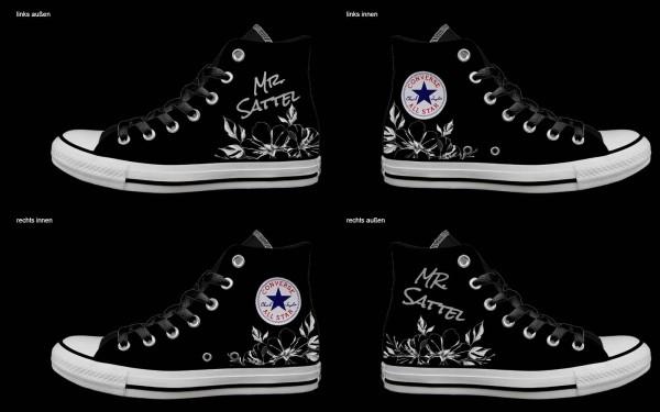 Schuh (Design: 7373 )Converse High
