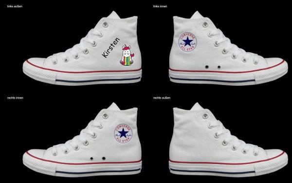Schuh (Design: 5725 )Converse High
