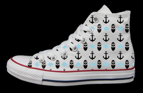 Marine Schuhe