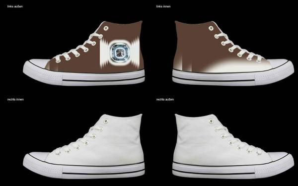 Schuh (Design: 4386 )Sneaker High