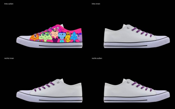 Schuh (Design: 4806 )Sneaker Low