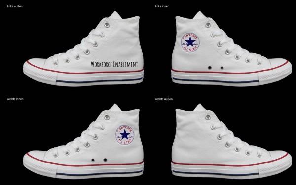 Schuh (Design: 7151 )Converse High