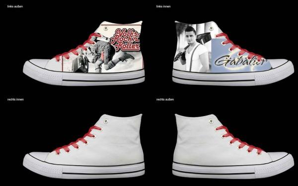 Schuh (Design: 4735 )Sneaker High