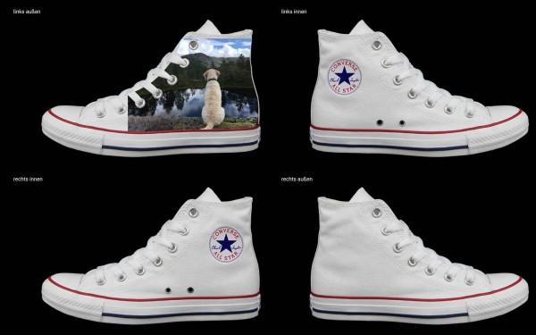 Schuh (Design: 7737 )Converse High