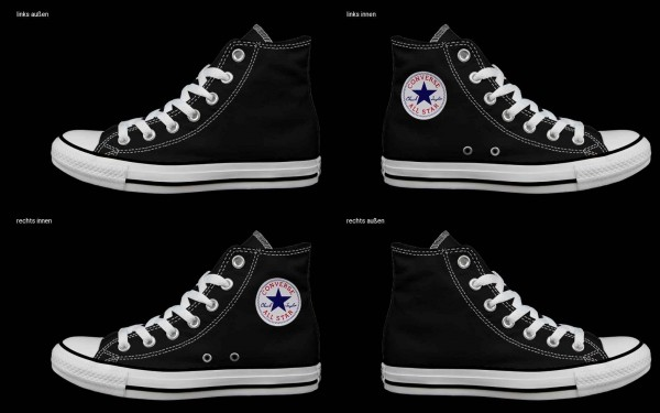 Schuh (Design: 7175 )Converse High