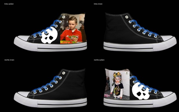 Schuh (Design: 7292 )Sneaker High