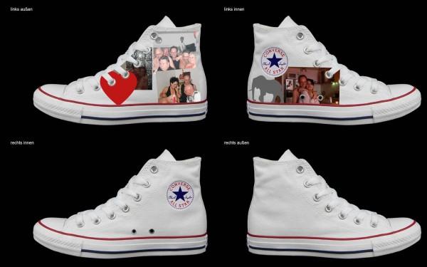 Schuh (Design: 4949 )Converse High