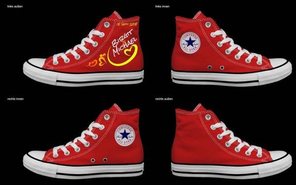 Schuh (Design: 3299 )Converse High