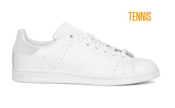 Tennis Sneaker Weiß - ID-Sneakers