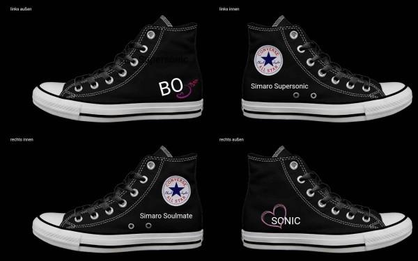 Schuh (Design: 7509 )Converse High