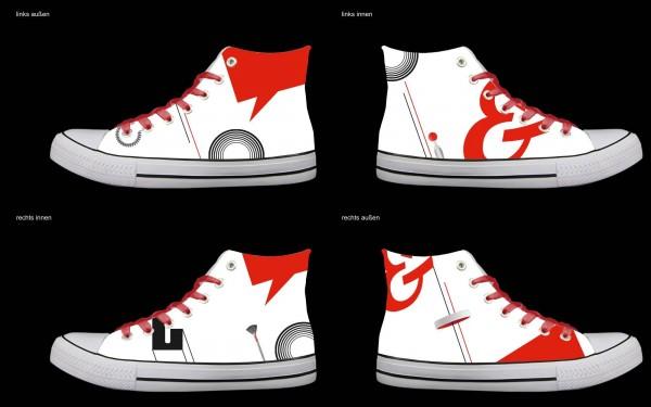 Schuh (Design: 4797 )Sneaker High