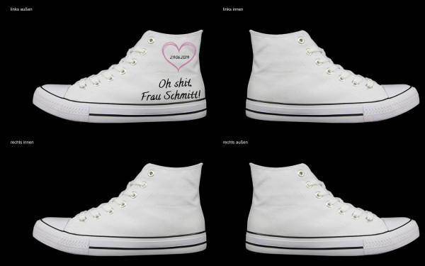 Schuh (Design: 4224 )Sneaker High
