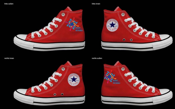 Schuh (Design: 8244 )Converse High