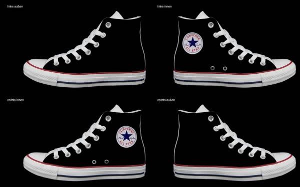 Schuh (Design: 6959 )Converse High