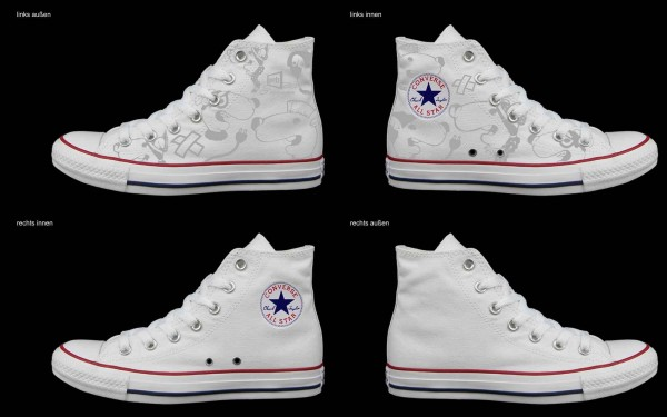 Schuh (Design: 4290 )Converse High