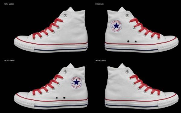 Schuh (Design: 7851 )Converse High