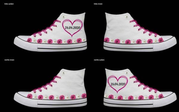 Schuh (Design: 7455 )Sneaker High