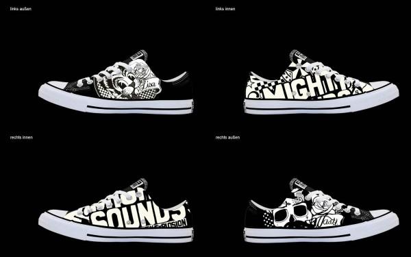 Schuh (Design: 3507 )Converse Low