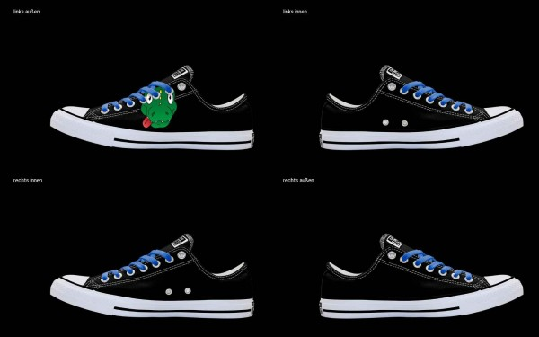 Schuh (Design: 7512 )Converse Low
