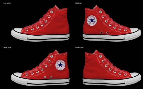 Schuh (Design: 7395 )Converse High
