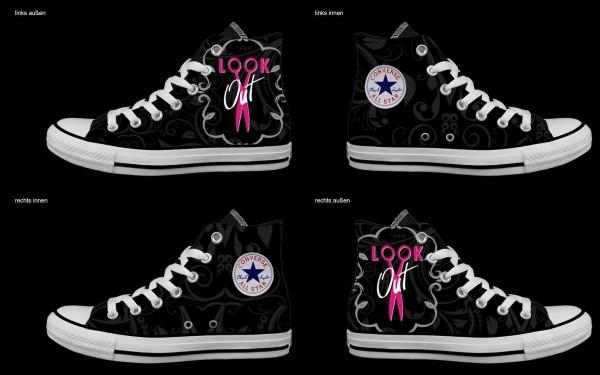 Schuh (Design: 5664 )Converse High