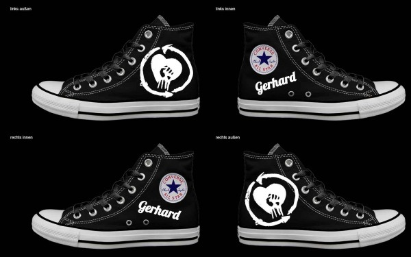 Schuh (Design: 5805 )Converse High