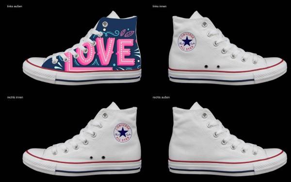 Schuh (Design: 7538 )Converse High