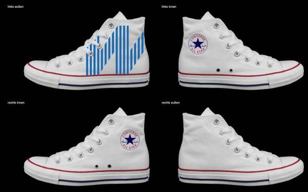 Schuh (Design: 7652 )Converse High