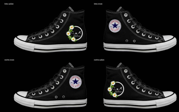 Schuh (Design: 5070 )Converse High